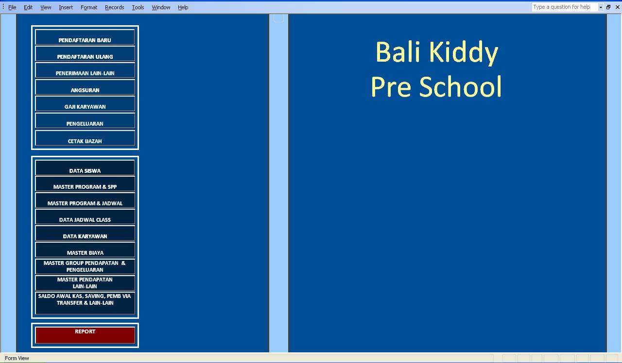 Program Sekolah